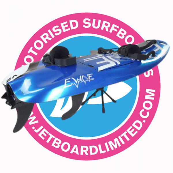 ewave jetboard on stand