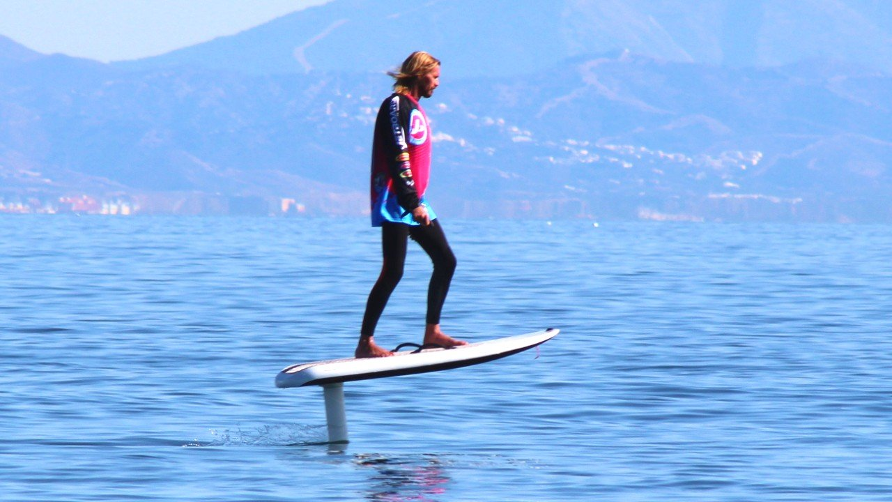 jetboard on a fliteboard